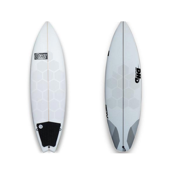 Surfboard und SUP Board Traction transparent clear